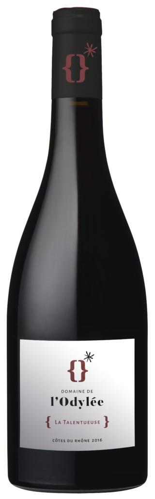 vin rouge cote du rhone 2017 la talentueuse domaine de l'Odylée