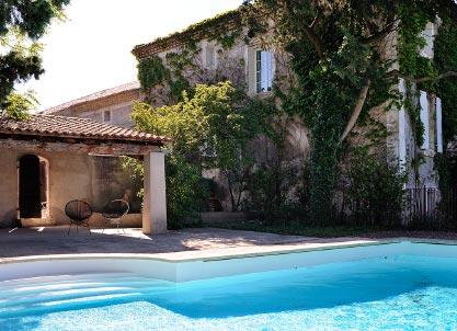 Piscine en Provence, Mas de l'Odylée à Plan de Dieu