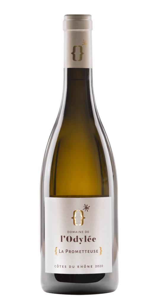 vin blanc igp vaucluse 2020 la prometteuse domaine de l'Odylée