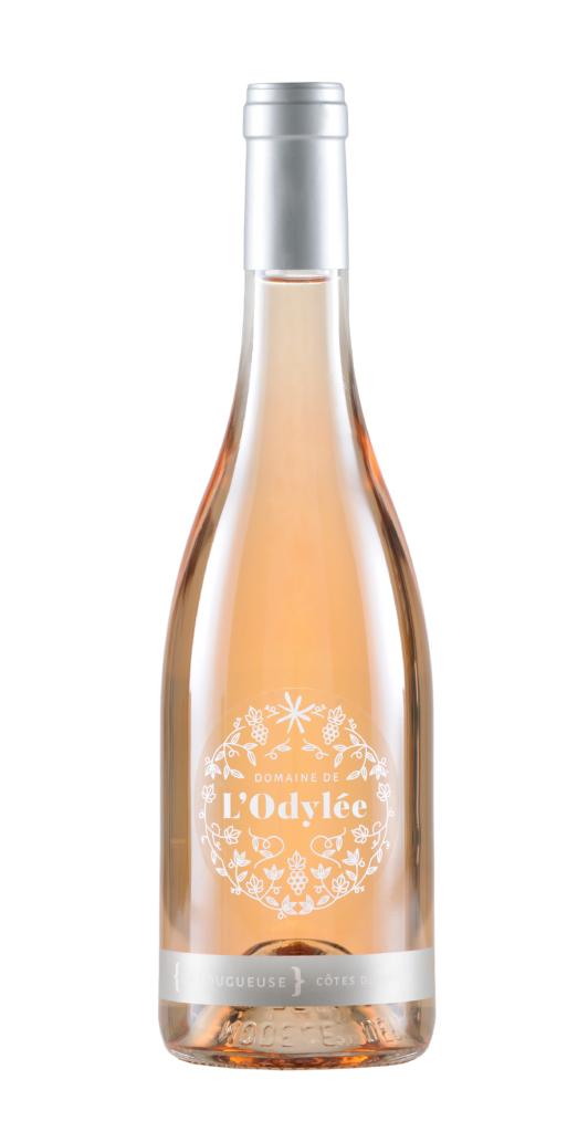 vin rouge cote du rhone 2018 la fougueuse domaine de l'Odylée