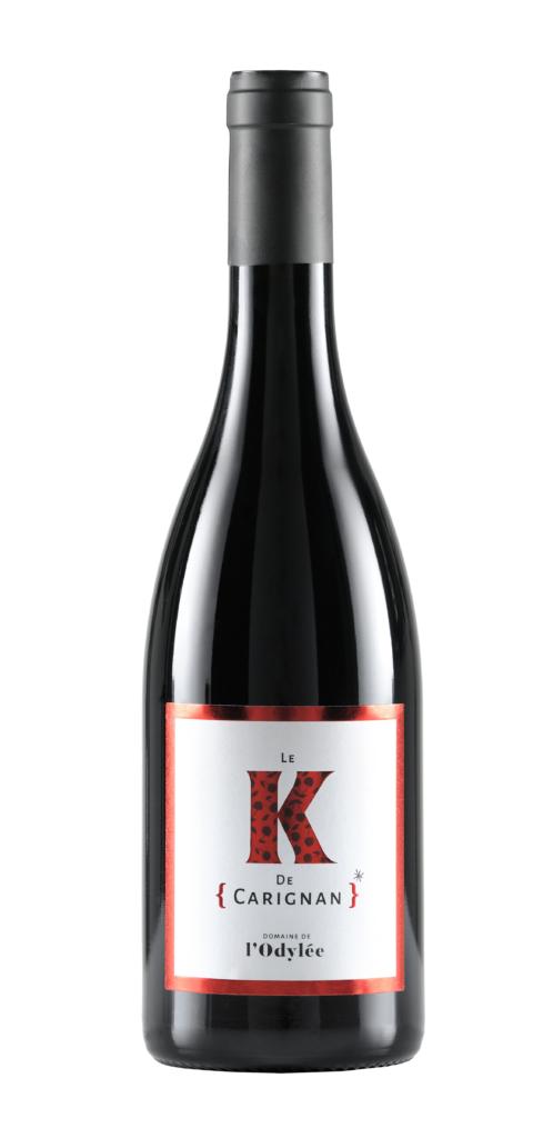 vin rosé cote du rhone 2017 la fougueuse domaine de l'Odylée